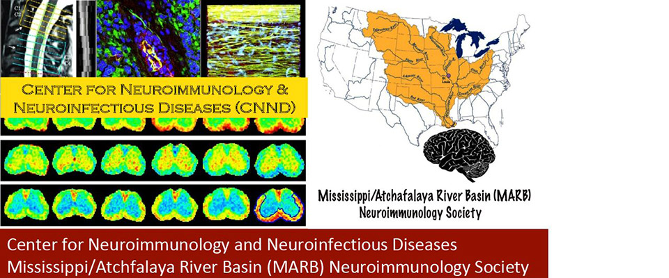 Center for Neuroimmunology and Neuroinfectious Diseases Mississippi/Atchfalaya River Basin Neuroimmunology Society